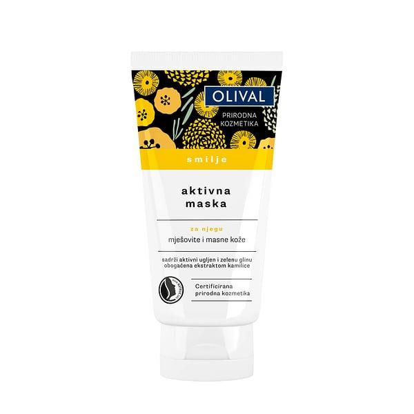 Olival Aktivna maska smilje 75 ml