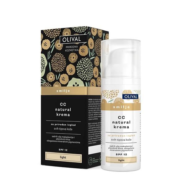 Olival Cc natural krema smilje light 50 ml