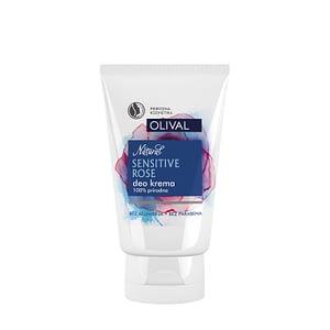 Olival Natural sensitive rose deo krema 50 ml
