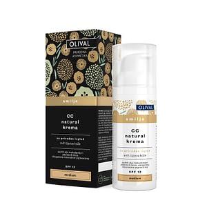 Olival Cc natural krema smilje medium 50 ml