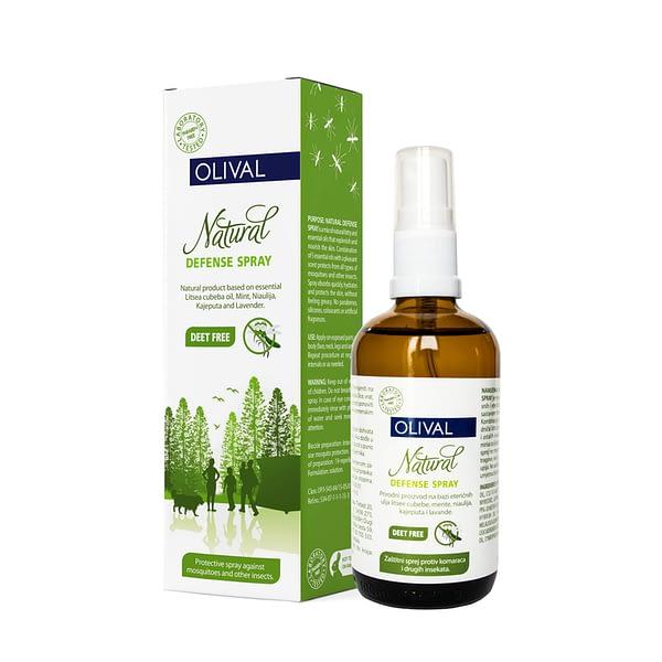 Olival Natural defense sprej protiv komaraca 100 ml